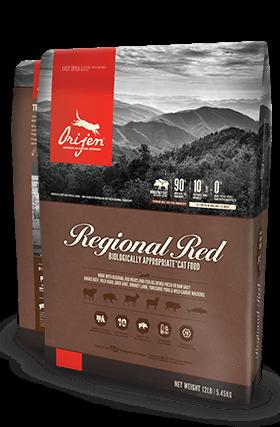 ORIJEN Regional Red Biologically Appropriate Cat Food Bag