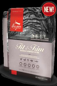 ORIJEN Fit & Trim Biologically Appropriate Cat Food Bag